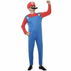 Déguisement Mario Bros homme Déguisement Mario Déguisement Jeux Vidéos