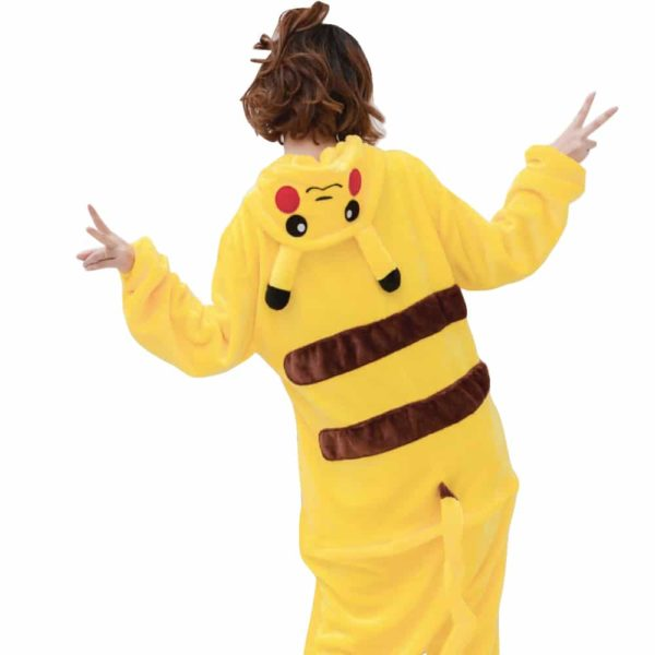 Déguisement Pikachu adulte Déguisement Pokemon Déguisement Jeux Vidéos