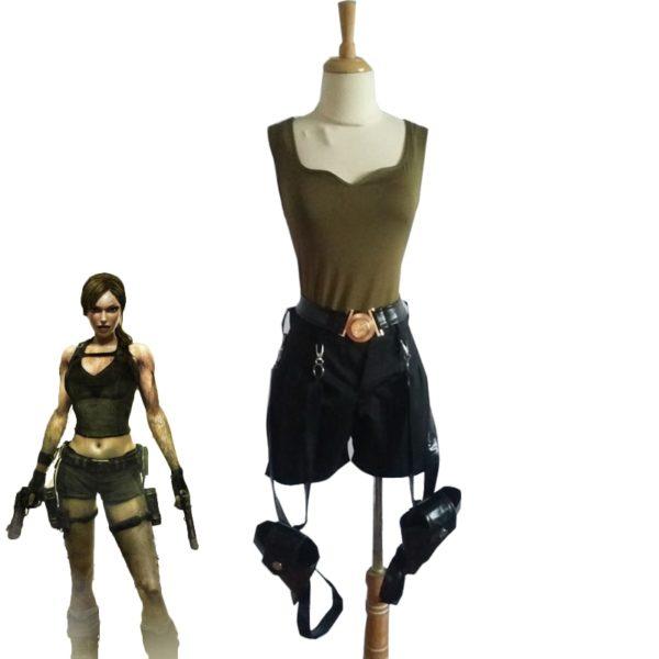 Déguisement Tomb Raider Lara Croft short Déguisement Lara Croft Déguisement Jeux Vidéos