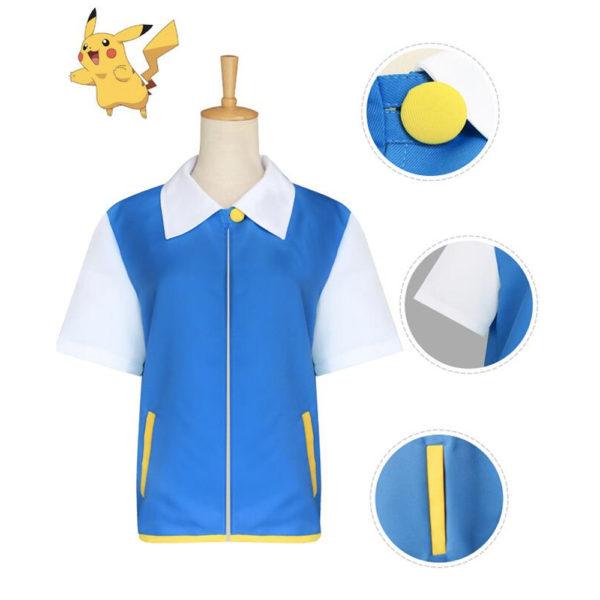 Déguisement dresseur Pokémon adulte Déguisement Pokemon Déguisement Jeux Vidéos
