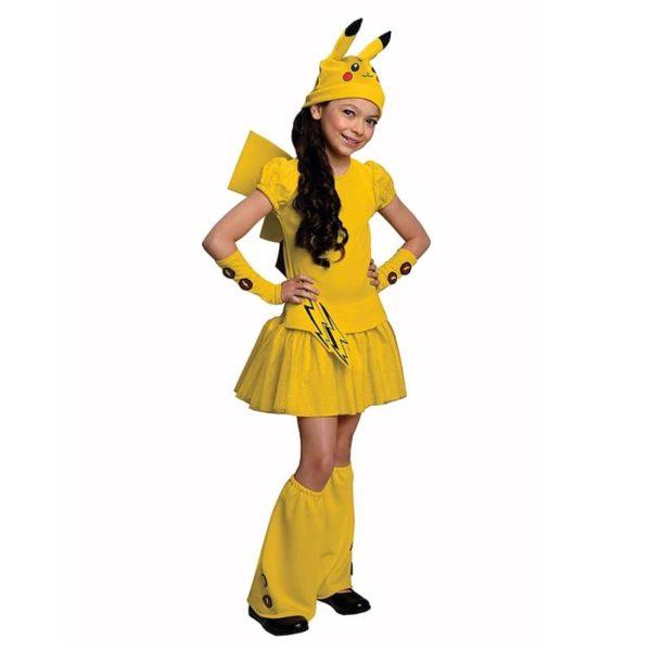 Déguisement fille Pikachu Déguisement Pokemon Déguisement Jeux Vidéos