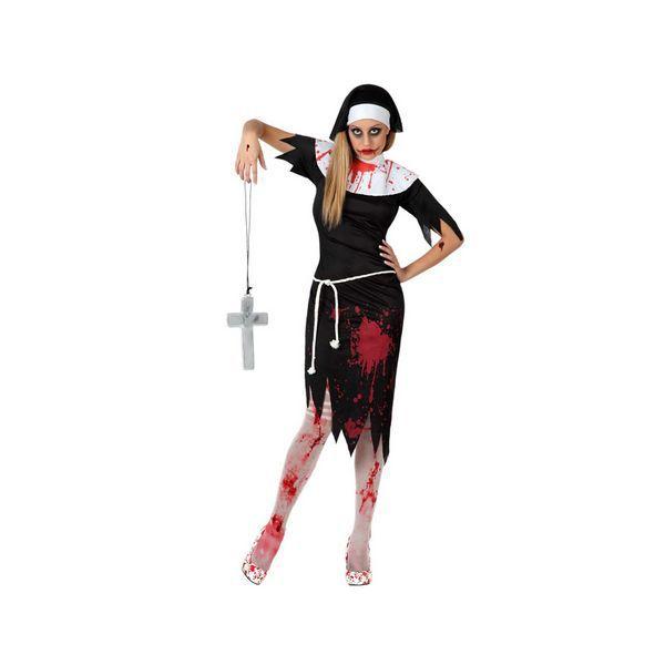 Déguisement pour Adultes Bonne sœur morte Déguisement Halloween