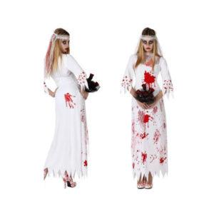 Déguisement pour Adultes Mariée morte Déguisement Halloween