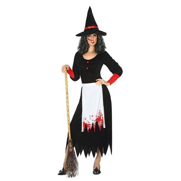 Déguisement pour Adultes Sorcière ensanglantée Déguisement Sorcière Déguisement Fantastique Déguisement Halloween