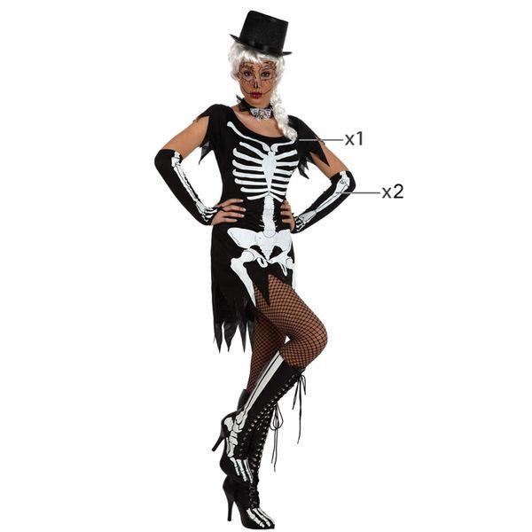 Déguisement pour Adultes Squelette Déguisement Halloween