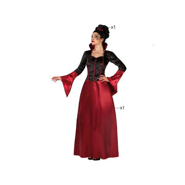 Déguisement pour Adultes Vampire femme Déguisement Vampire Déguisement Fantastique Déguisement Halloween