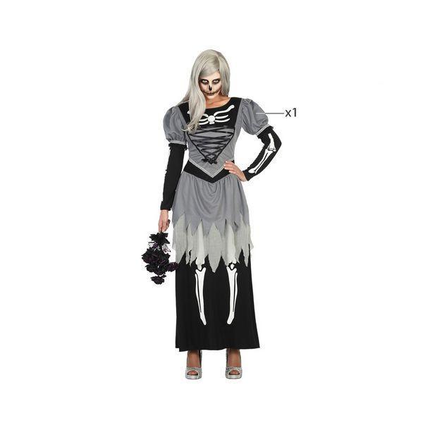 Déguisement pour Adultes robe squelette Déguisement Halloween