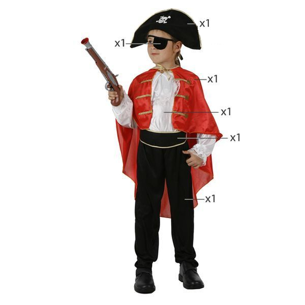 Déguisement pour Enfants Capitaine pirate Déguisement Pirate Déguisement Historique
