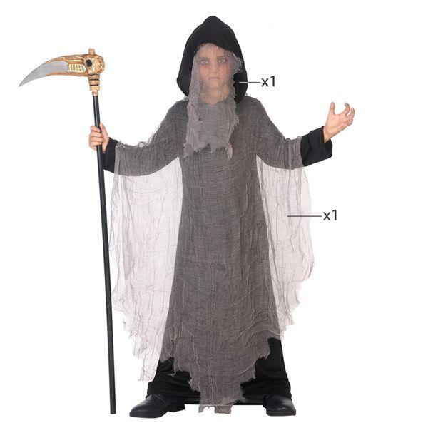 Déguisement pour Enfants Fantôme noir Déguisement Halloween Déguisement Fantôme