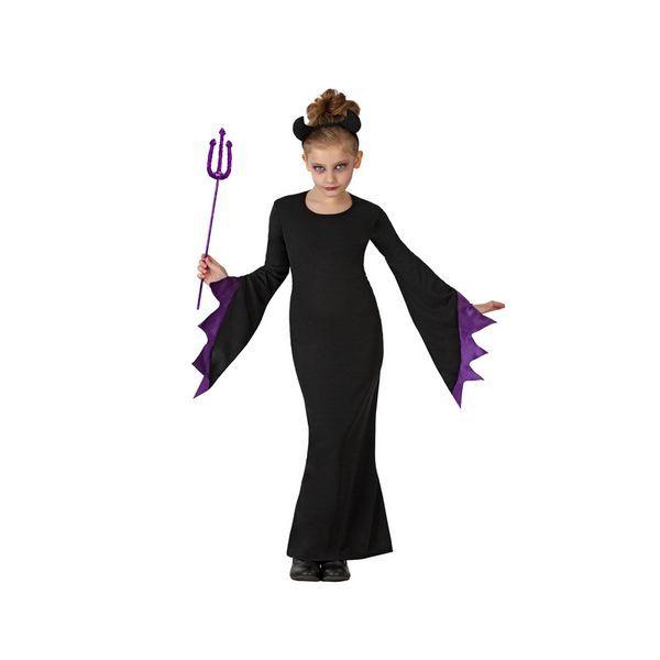 Déguisement pour Enfants Reine des ténèbres Déguisement Sorcière Déguisement Fantastique Déguisement Halloween