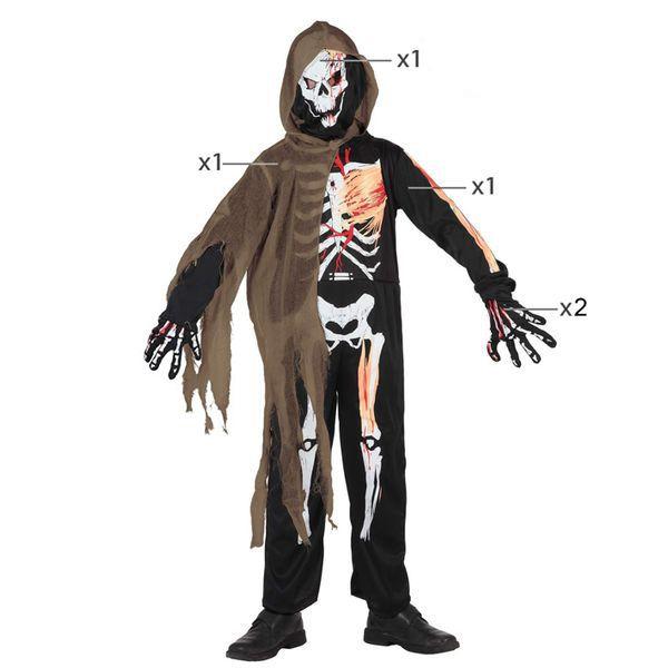 Déguisement pour Enfants Squelette Zombie Déguisement Halloween