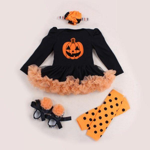 Déguisement pour bébé citrouille mignonne Déguisement Halloween