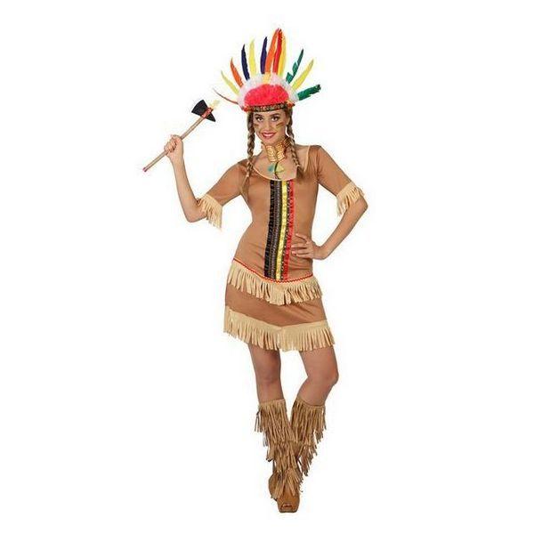 Déguisement robe d'Indienne Adulte Déguisement Indien Déguisement Historique