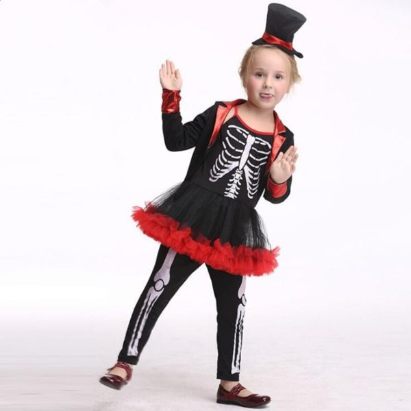 Déguisement squelette fille Déguisement Halloween