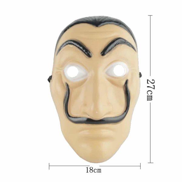 Masque Dali, La Casa de papel Déguisement Casa de Papel Accessoire Déguisement Déguisement Film