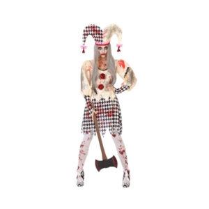 Déguisement femme Arlequin ensanglanté Déguisement Halloween