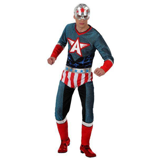 Déguisement pour Adultes Captain America Déguisement Captain America Déguisement Marvel
