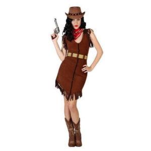 Déguisement pour Adultes Cow-girl Déguisement Cowboy Déguisement Historique