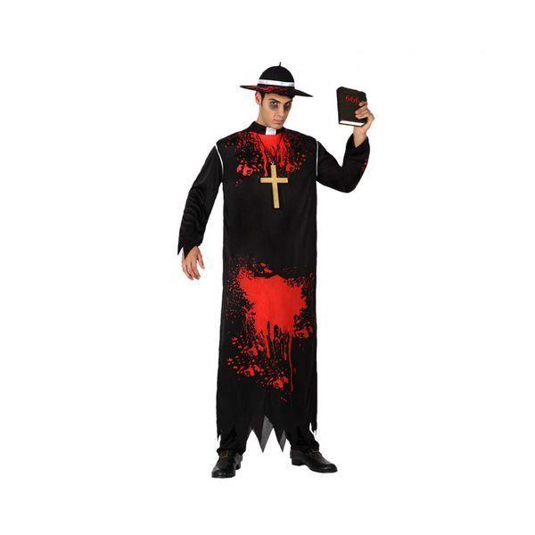 Déguisement pour Adultes Curé mort Déguisement Halloween