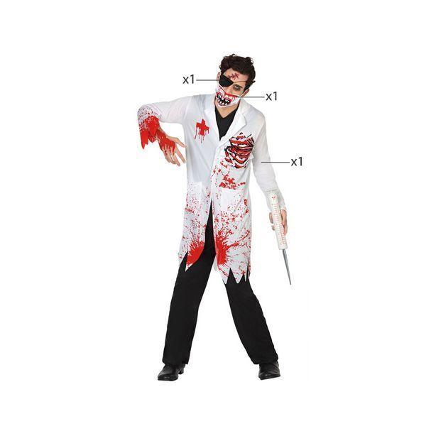 Déguisement pour Adultes Docteur sanglant Déguisement Halloween