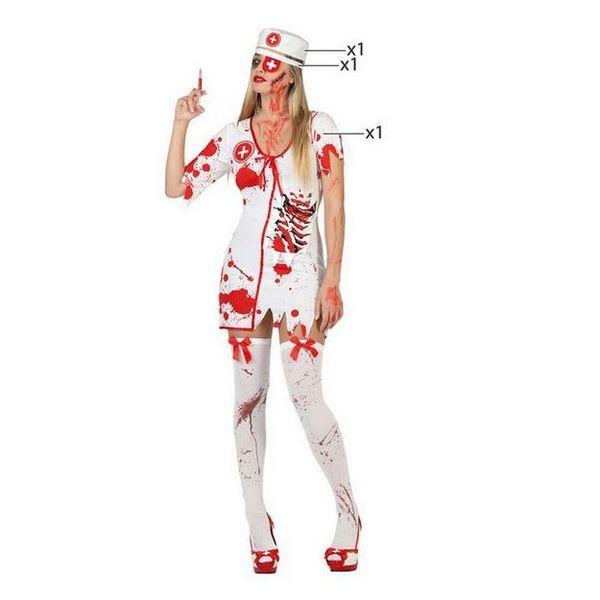 Déguisement pour Adultes Infirmière sanglante Déguisement Infirmière Déguisement Halloween Déguisement Métier
