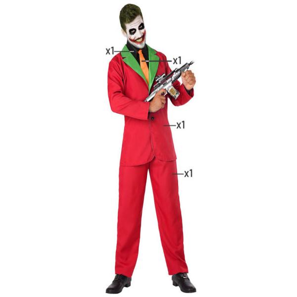 Déguisement pour Adultes Joker Rouge Déguisement Joker Déguisement DC Comics