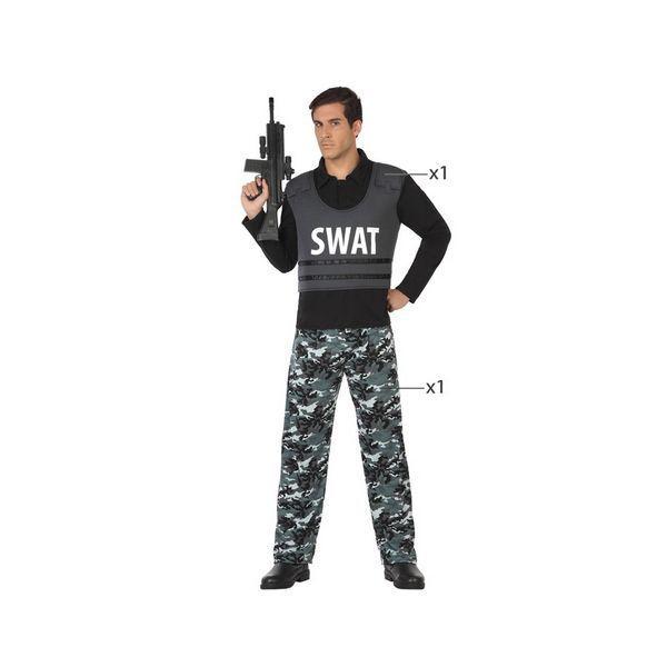 Déguisement pour Adultes Policier swat Déguisement Policier Déguisement Métier