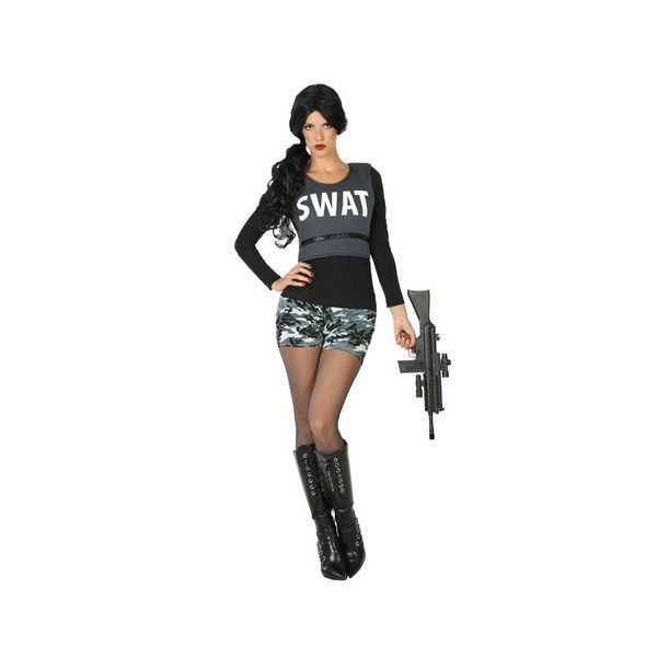 Déguisement pour Adultes Policière SWAT Déguisement Policier Déguisement Métier