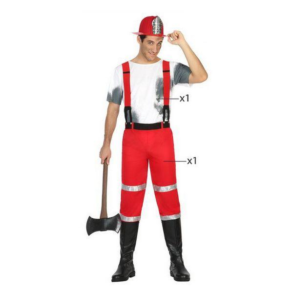 Déguisement pour Adultes Pompier Déguisement Pompier Déguisement Métier