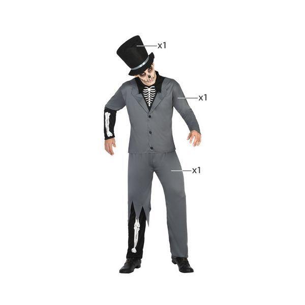 Déguisement pour Adultes Squelette homme Déguisement Halloween