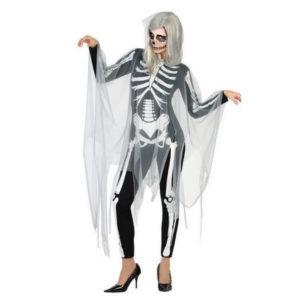 Déguisement pour Adultes combinaison Squelette Déguisement Halloween