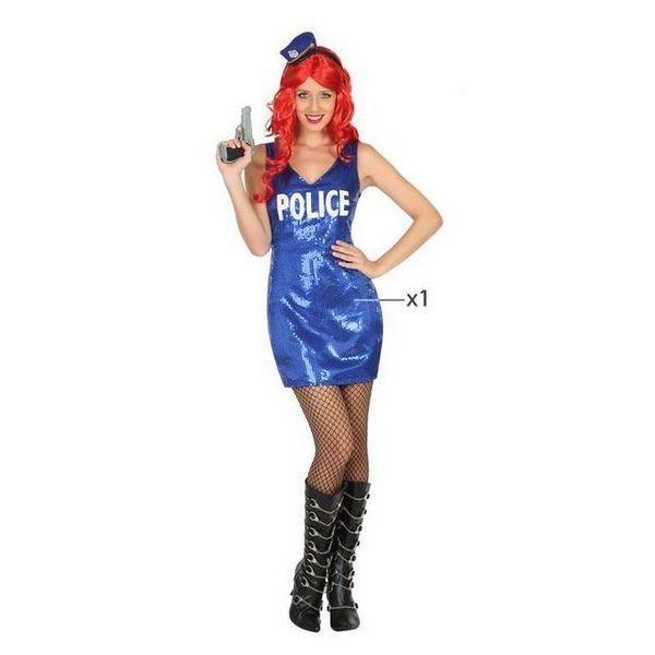 Déguisement pour Adultes robe Police Déguisement Policier Déguisement Métier
