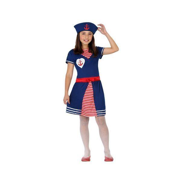 Déguisement pour Enfants Femme matelot Déguisement Marin Déguisement Métier