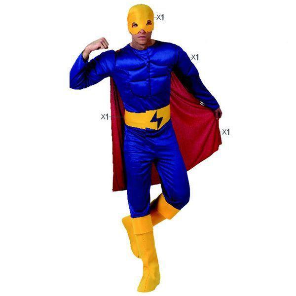 Déguisement pour Adultes Super Héros homme Déguisement Super Héro Déguisement Film