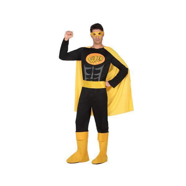 Déguisement pour Adultes Super-héros noir Déguisement Super Héro Déguisement Film