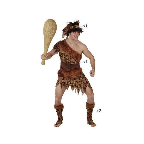 Déguisement pour Adulte Homme des cavernes Déguisement Homme Préhistorique Déguisement Historique