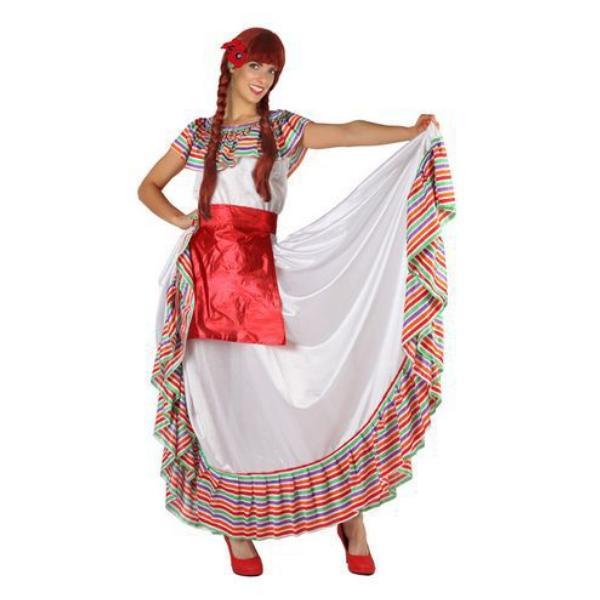 Déguisement pour Adulte femme Mexicaine Déguisement Mexicain Déguisement Historique
