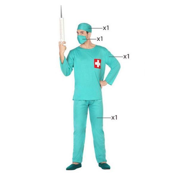 Déguisement pour Adultes Docteur Vert Déguisement Infirmière Déguisement Métier