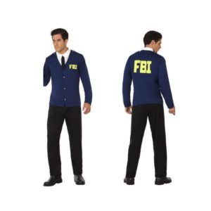Déguisement pour Adultes FBI Déguisement Policier Déguisement Métier