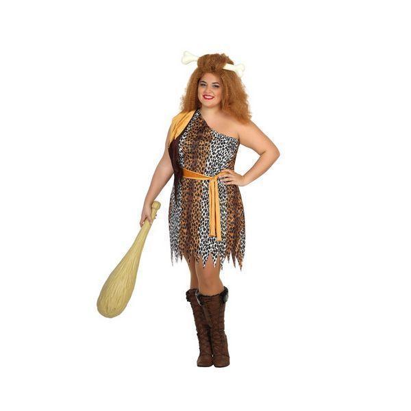 Déguisement pour Adultes Femme préhistorique léopard Déguisement Homme Préhistorique Déguisement Historique
