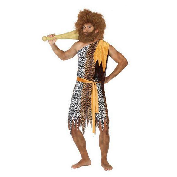 Déguisement pour Adultes Homme Préhistorique léopard Déguisement Homme Préhistorique Déguisement Historique