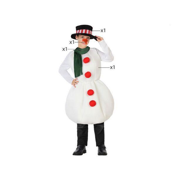 Déguisement pour Enfants Bonhomme de neige Déguisement Père Noël Déguisement Fantastique