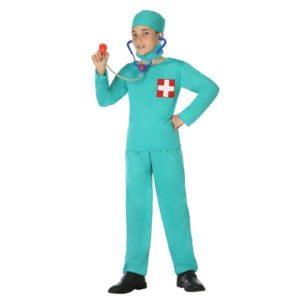 Déguisement pour Enfants Docteur vert Déguisement Infirmière Déguisement Métier
