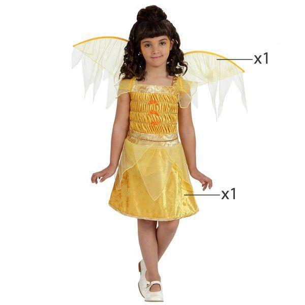 Déguisement pour Enfants Fée jaune Déguisement Fée Déguisement Fantastique
