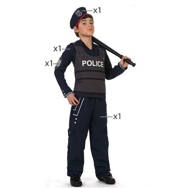 Déguisement pour Enfants Police Déguisement Policier Déguisement Métier