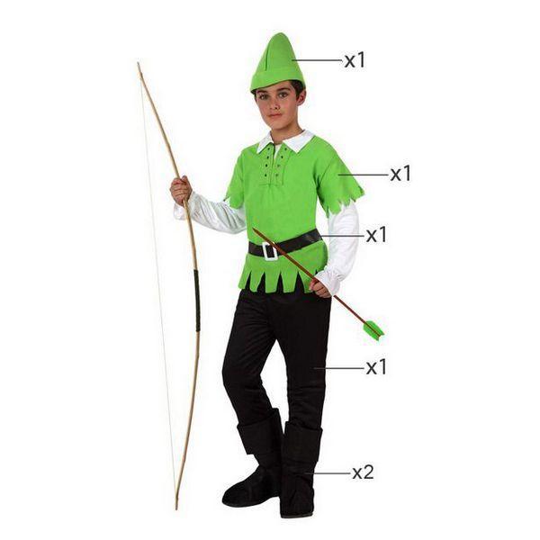 Déguisement pour Enfants Robin des bois vert Déguisement Disney