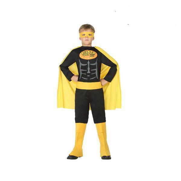 Déguisement pour Enfants Super-héros noir et jaune Déguisement Super Héro Déguisement Film