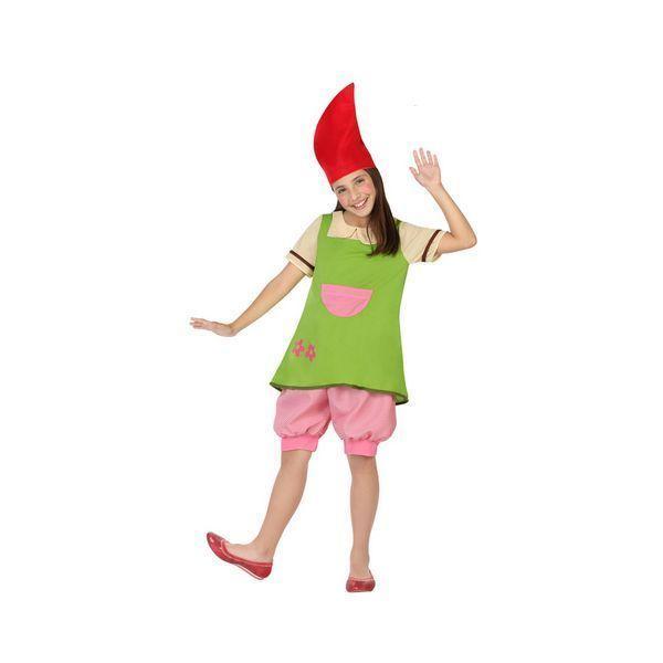Déguisement pour fille Lutin vert et rose Déguisement Lutin Déguisement Fantastique