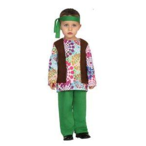 Déguisement pour Bébé Hippie vert Déguisement Hippie Déguisement Historique