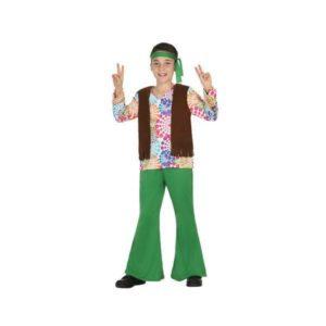Déguisement pour Enfant Hippie vert Déguisement Hippie Déguisement Historique